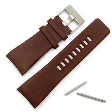 Diesel Genuine Original Watch Strap Real Leather S/Steel Buckle for DZ1179