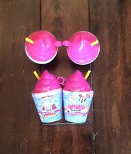 Smooshy Mushy Pink Frozen Delights series 1 scented smooshy surprise lot of 4.