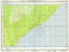 1954 U.S. Air Force Aeronautical Chart or Map of Southern Somalia
