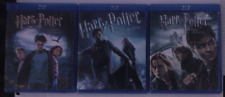Harry Potter 3 Film Lot Prisoner Azkaban Half-Blood Deathly 1 Blu ray + Digital