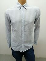 Camicia HUGO BOSS Uomo taglia size M shirt man chemise uomo maglia polo p 5916