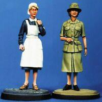 1/35 Resin Female Nurse & Soldier unpainted unassembled CK040