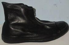 WOMEN'S CONVERSE ALL STAR CT SHROUD HI BLACK/BLACK LEATHER SHOES SIZE 8