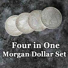 4 In 1 Morgan Dollar Set - Morgan & 3 Expanded Nesting Shells