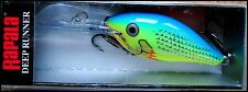 VERY RARE RAPALA RISTO RAP RR 5 cm in PRT (Parrot) color