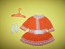 Vintage Skipper Outfit Sweet Orange  #3465 Fashions doll clothes 1970s  Barbie