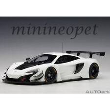 AUTOart 81640 MCLAREN 650S GT3 1/18 MODEL CAR WHITE BLACK ACCENTS