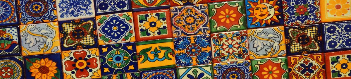 Mexican Tiles Copper Ceramic Sinks