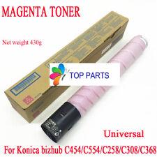 Magenta toner for Konica Minolta bizhub C454E/C554E/C258/C308/C368 TN512 TN324