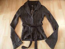 Bouche A BOUCHE tricot veste marron taille M? top zc116