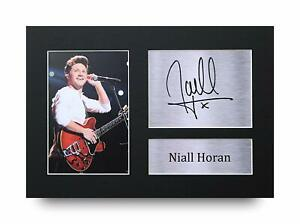 Niall Horan Signed A4 Framed Printed Autograph One Direction 1D Music Print Gift