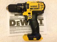 """New Dewalt DCD780B 20 Volt 20V Max 1/2"""" 2 Speed Drill Driver Li-ion Made in USA"""