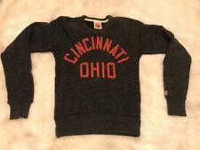 Homage Cincinnati Ohio Crewneck Sweatshirt Adult XS Bearcats Reds Bengals