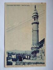 PALAZZOLO SULL'OGLIO Torre del Popolo Brescia vecchia cartolina