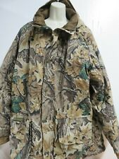 XL Columbia Leaf Camouflage Insulated Hunting Jacket w/ Hood