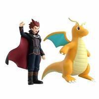 Pokemon scale World Kanto region Lance & Dragonite Figure Anime JAPAN 2020