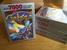 GALAGA -- for ATARI 7800 Video Game System FRESH CASE -  NOS - BRAND NEW