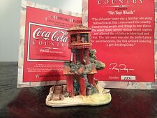 "LILLIPUT LANE COTTAGES- Coca Cola-   ""Wet Your Whistle""  CC L2068"