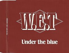 W.E.T. Under the Blue CD 1991 3 Song EP Import Rare OOP 90's Melodic Hard Rock