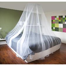 weiß Doppelbett Moskitonetz Fliegengitter Fliegennetz Mückennetz Schutznetze Neu
