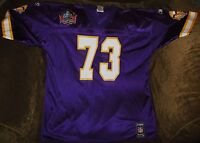 Rare Ron Yary jersey! Minnesota Vikings MENS XL NEW NFL Hall of Fame edition!