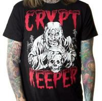 Tales from the Crypt Keeper Black T-Shirt Goth Horror Kreepsville Size 666 XL