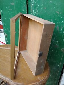 ANTIQUE ORIGINAL COUNTRY STORE WOOD COUNTER TOP socks display case no glass