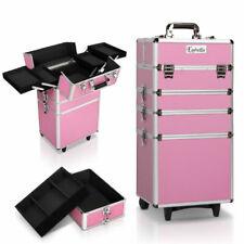 Embellir 7-In-1 Portable Makeup Trolley - Pink (CASE-MU-4T-081-PI)