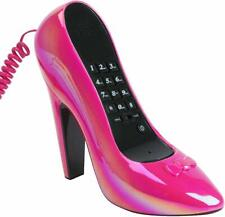 Silly High Heel Shoe Telephone,  plz email colour required PINK OR RED