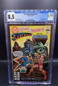 DC Comics Presents #47 CGC 8.5 - 1st appearance of He-Man & Skeletor in comics!