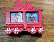 """2017 MCDONALDS Happy Meal TOY HOLIDAY EXPRESS """"Barbie"""" TRAIN CAR  X-mas M-14"""