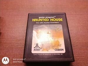 Atari 2600 Game Cartridge Only Tested Haunted House Ships Fast - Clean