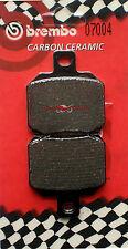 Pastiglie Freno Posteriore BREMBO CC Per MBK SKYLINER 125 2008 2009 2010 (07004)