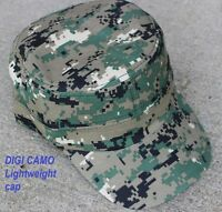 DigiCAMO Adjustable Hat BaseBall Cap - Cadet style ,military Army