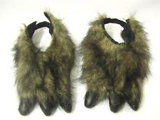 Monster Paws with Claws - Brown Feet ~ Werewolf ~ one size ~ Halloween