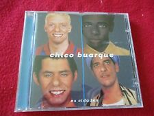 "CD ""AS CIDADES"" Chico Buarque"