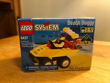 Lego 6437 City Center Beach Buggy New in Factory Sealed Box, Lego System, 1999