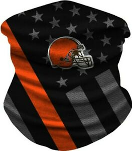 Cleveland Browns Ice Silk Neck Gaiter Face Covering