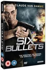 Six Bullets DVD (2012) Jean-Claude Van Damme ***NEW***