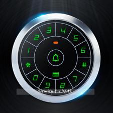Waterproof Metal Touchpad 125KHZ RFID Card+Password Door Access Control Keypad