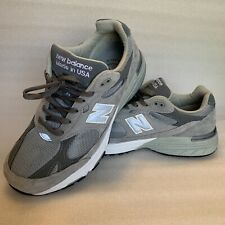 NEW BALANCE 993 MADE IN USA MR993GL GREY MEN SIZE 9.5 4E Heritage Collection EUC