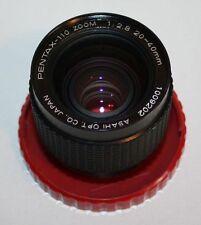 PENTAX-110 ZOOM - 20-40mm - F/2.8 - ASAHI
