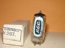 Vintage GEC Genalex CV287 3MICA D-Getter Stereo Tube