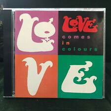 LOVE COMES IN COLOURS 1992 ARTHUR LEE ROCK CD SEVEN AND SEVEN IS OLD MAN