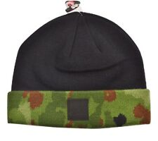 Diamond Supply Co. CAMO FOLD Black Camo Black Logo Knit Men's Beanie Hat Cap