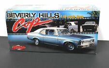 GMP 18802 1:18 1970 Chevy Nova Hardtop Beverly Hills Cop MIB New Ltd Edition