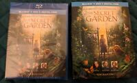 Brand New The Secret Garden (Blu-ray DVD Digital 2020) Slip Cover