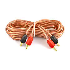 Raptor Car Audio R2RCA-62 6/' RCA Interconnet Mid Series Audio Cable Amp Wire
