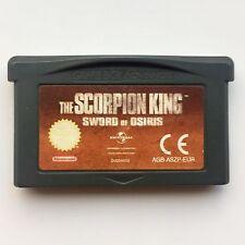 The Scorpion King: Sword of Osiris (Nintendo Game Boy Advance, 2002) - European