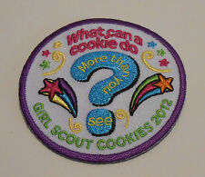 Girl Scout Cookie Participation Patch 2012 ~ What Can A Cookie Do? ~ NEW